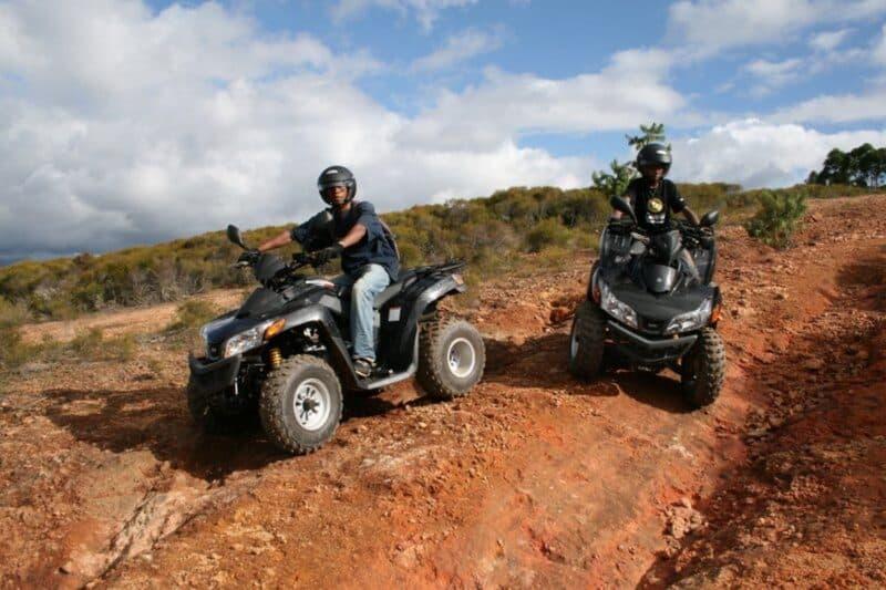 Quad ride in Matasoa, in the outskirts of Antananarivo