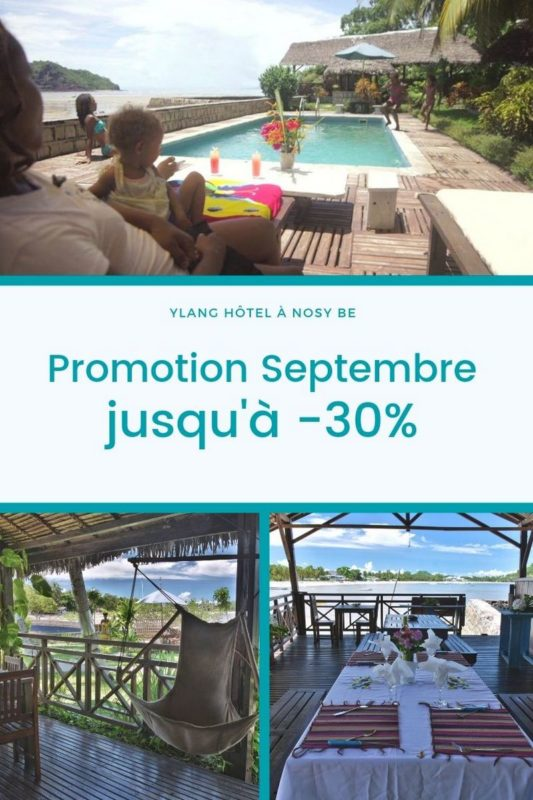 promotion SEPTEMBRE Ylang Hotel