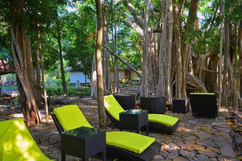 Relaxation au banian Spa de l'hôtel Home The Residence à Nosy Be
