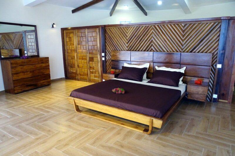 Chambre des villas proposées par Concept Nosy Be en location vacance