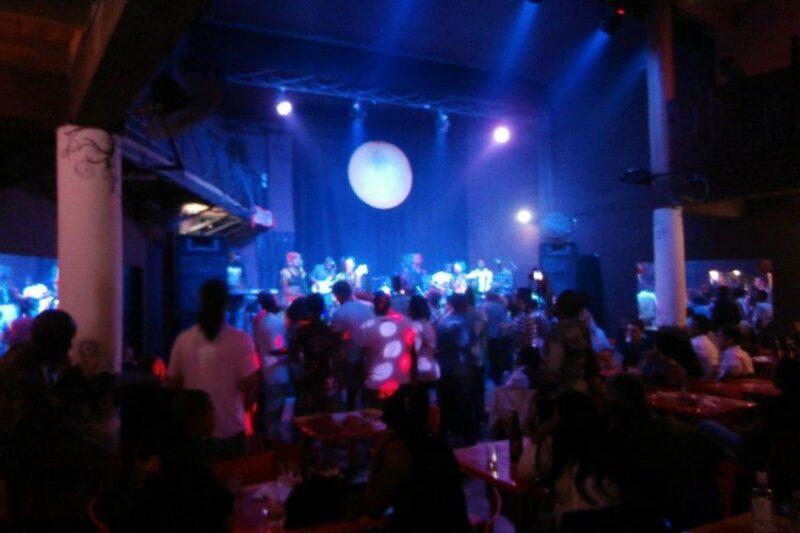 Boite de nuit Jao's Pub à Ambohipo, en périphérie d'Antananarivo