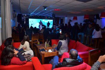 La boite de nuit Kudeta Urban Club dans l'immeuble de l'hôtel Carlton à Anosy, au centre ville d'Antananarivo