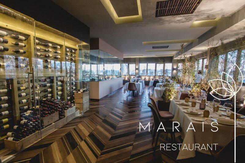Salle du restaurant Le Marais situé à Ankorondrano à Antananarivo