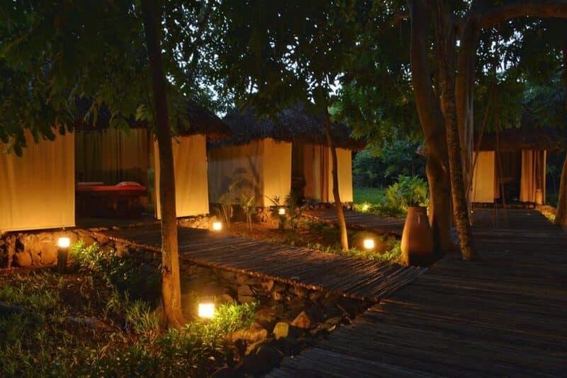 Salles de massage du Banian Nosy Be Spa à l'hôtel Home the Residence