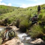 Bike ride in Ampefy, in the Itasy region, on the outskirts of Antananarivo