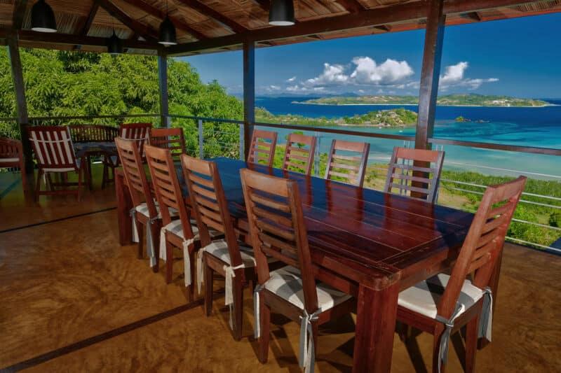 Vue sur la mer de Nosy Be proposée par Concept Nosy Be pour une location vacance
