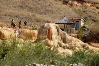 I geyser Ampefy per un fine settimana nella periferia di Antananarivo