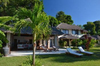 villa bord de mer home the residence nosy be