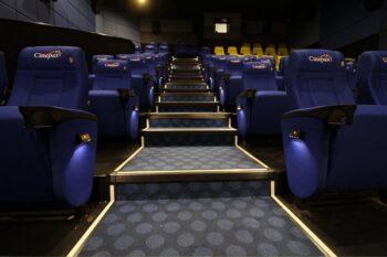 Salle cinema cinepax pour une sortie à Antananarivo