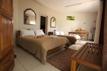 chambre triple green palace ivato antananarivo