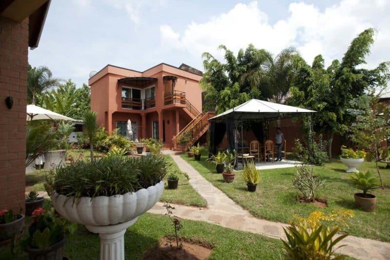 jardin vue green palace ivato antananarivo