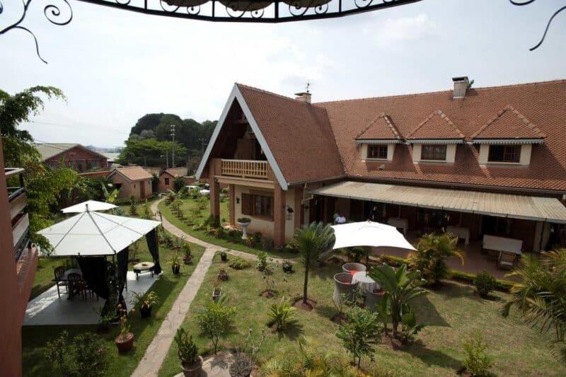 vue jardin green palace ivato antananarivo
