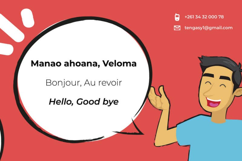 bonjour cours de langue malagasy ten gasy ambatobe antananarivo