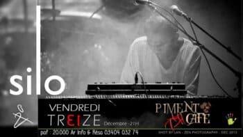 Silo en concert au Piment Cafe