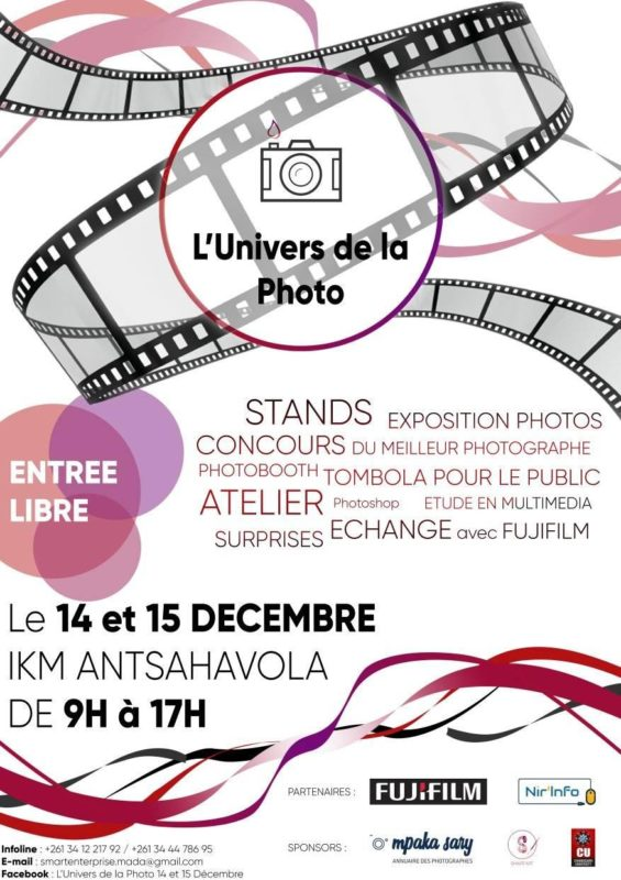 exposition photo a IKM Antsahavola centre ville de Tana