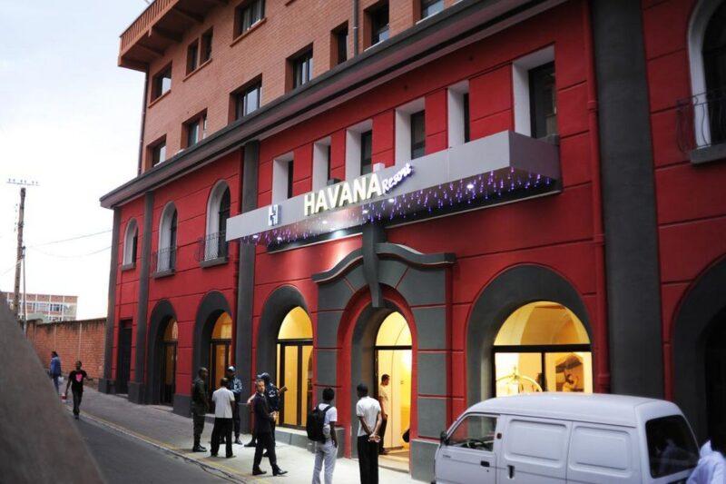 facade restaurant havana resort antananarivo
