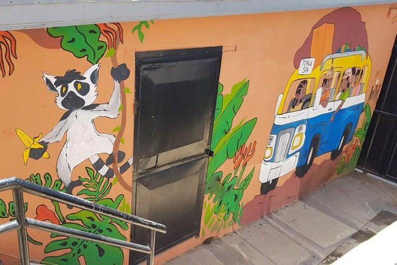 fresque villa espoir anjanahary antananarivo