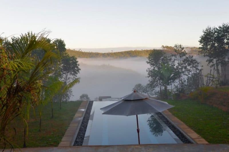 piscine matin mantadia lodge andasibe