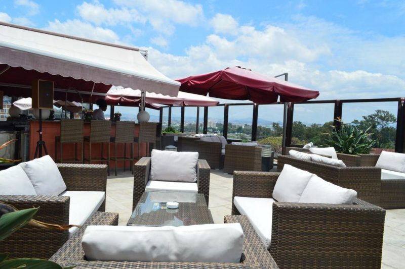 rooftop restaurant havana resort antananarivo