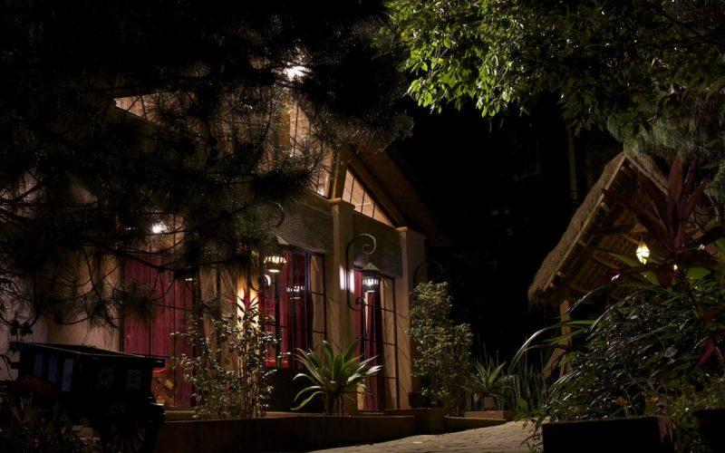 Vue de la réception de l'hôtel Bois Vert à Ivato localisé à Tanà