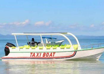 Du taxi-bateau à Nosy Be