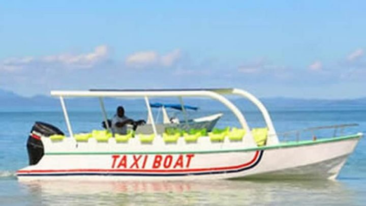 From taxi-boat to Nosy Be