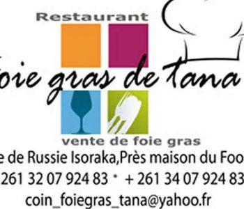 Restaurant Foie Gras de Tana