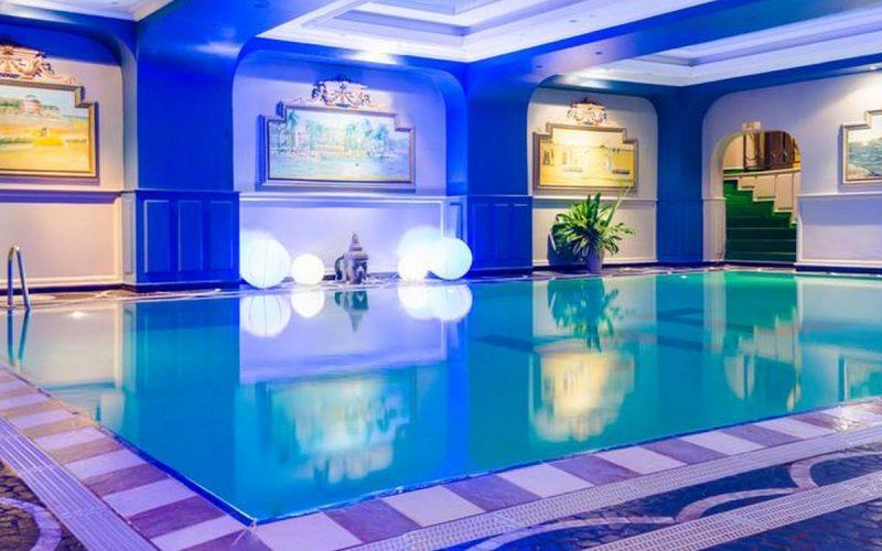 la piscina dell'Hotel Colbert - Spa & Casino di Antananarivo