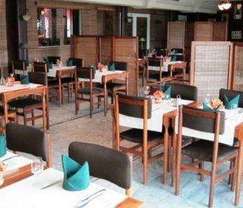 Restaurant La Fougère de l'hôtel Colbert à Tana