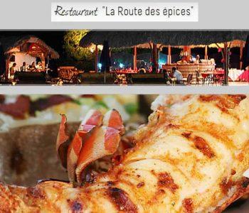 Restaurant La Route des Epices à Diego-Suarez