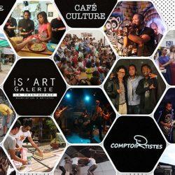 Restaurant Le Comptoir des Artistes à Tana