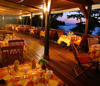 The Grill Del Sol Restaurant in Nosy Be