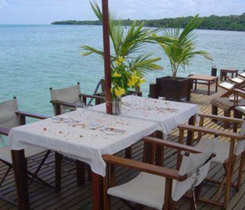 Restaurant Boraha Village à Sainte Marie