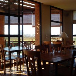 Sala ristorante Hotel Tamboho Boutik ad Antananarivo