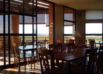 Salle du restaurant Tamboho Boutik Hotel à Antananarivo