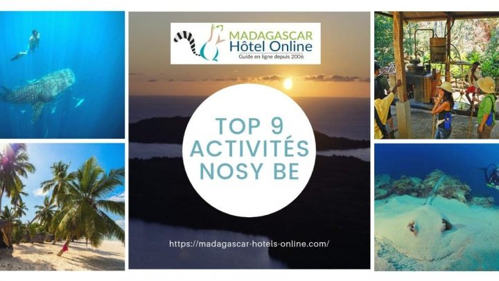 Top 9 activities nosy be