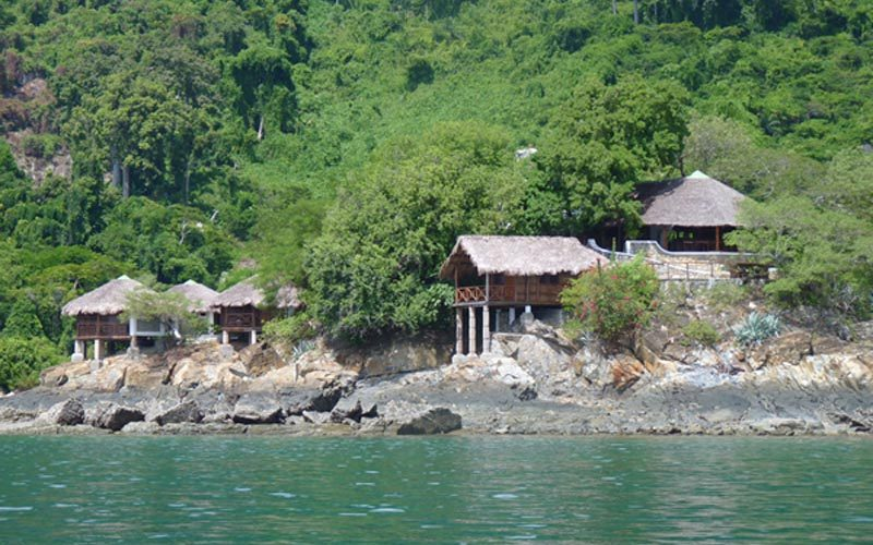 Auberge Maki Lodge à Nosy Komba - Madagascar