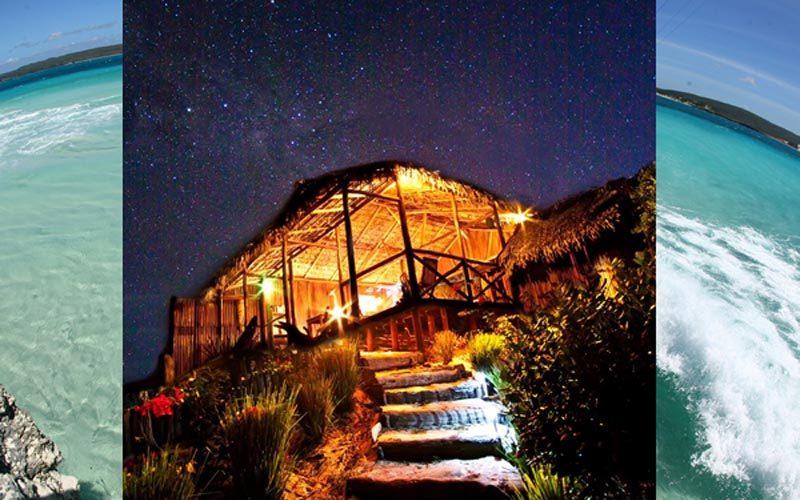 Casetta dell'isola di Babaombu a Diego-Suarez - Madagascar