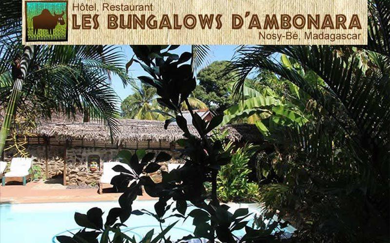 Biungalows d'ambonara à Nosy Be - Madagascar
