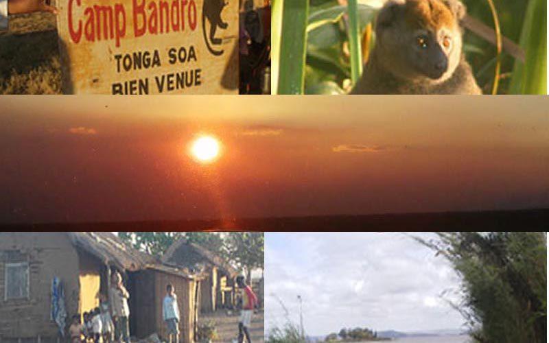 Obóz Bandro andreba w Tamatave - Madagaskar