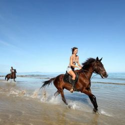 Horseback riding in Nosy Be