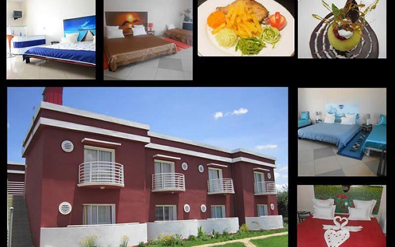Hotel Cristal w mieście Antsirabe - Madagaskar