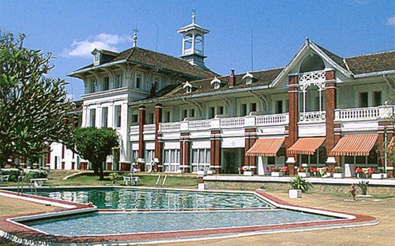 Hotel of the baths in Antsirabe - Madagascar