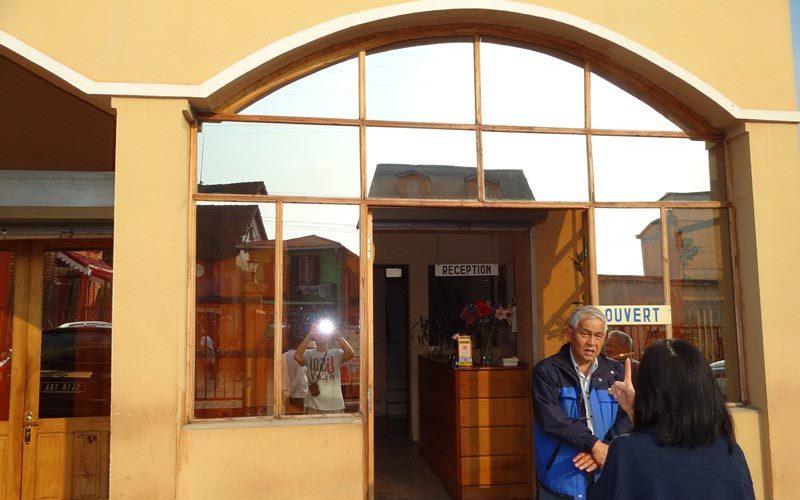 Hotel du center in Ambositra - Madagascar