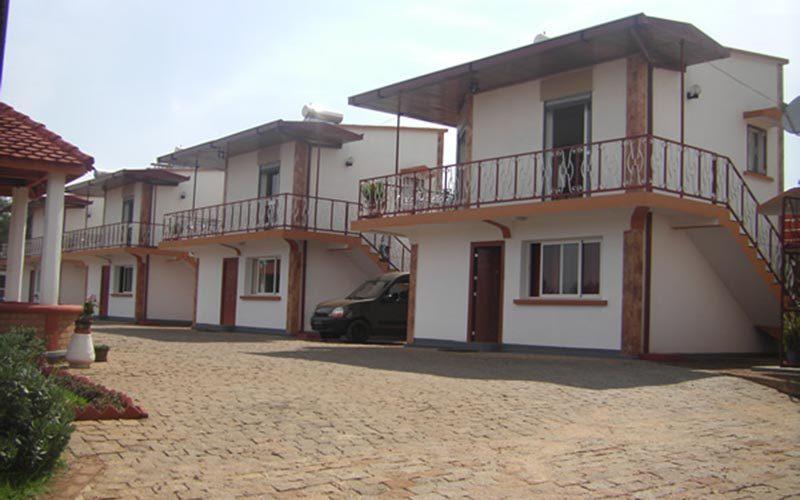 Hotel Laza w Antsirabe - Madagaskar