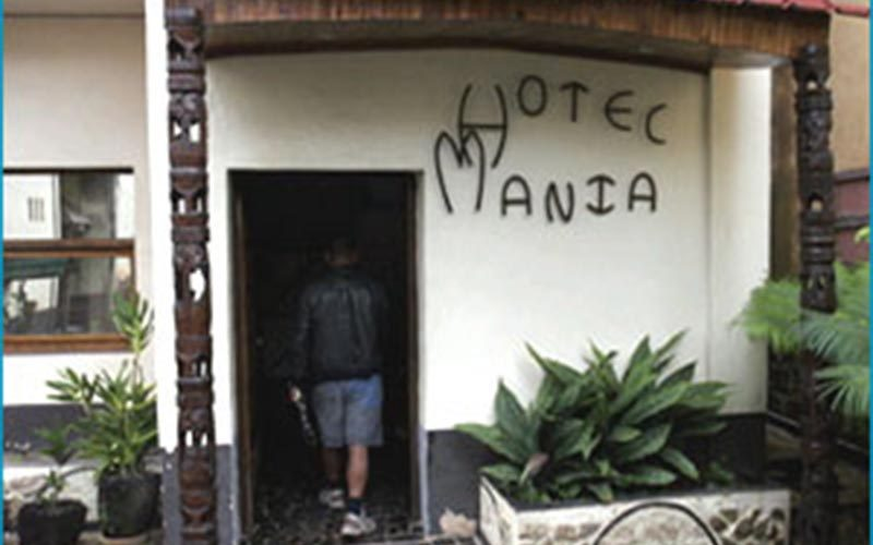 Hotel mania in Ambositra - Madagascar