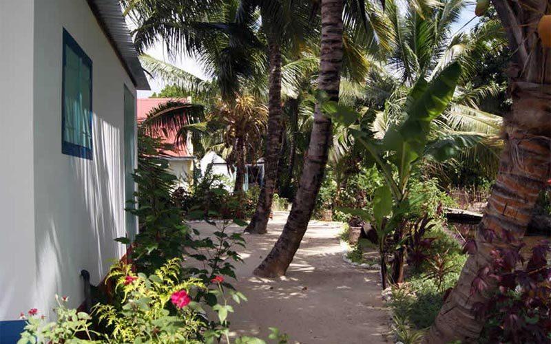 Hotel Panzakakely w Sainte-Marie - Madagaskar