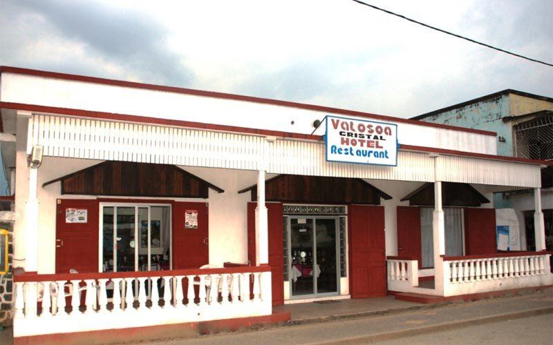 Hotel vatoso has crystal in Madagascar