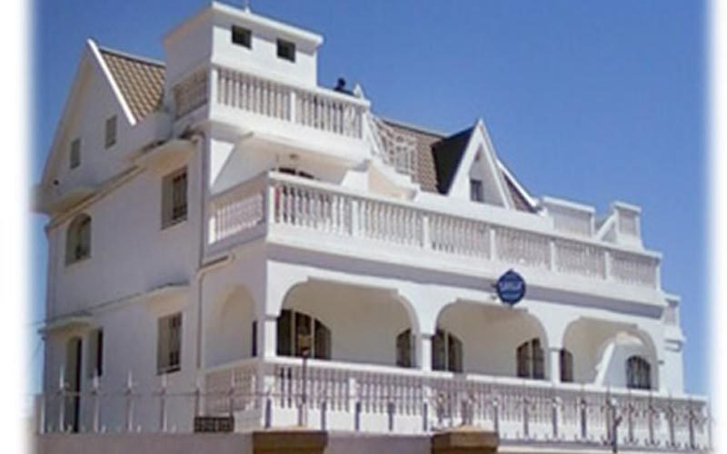 Hotel Lavilla w mieście Antsirabe - Madagaskar