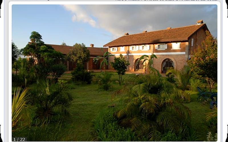 Il giardino di kokoa ad Antsirabe - Madagascar